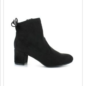 Bamboo Black Boots Black NWT